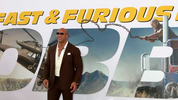 Dwayne 'The Rock' Johnson is Hollywoods best betaalde acteur - Actueel