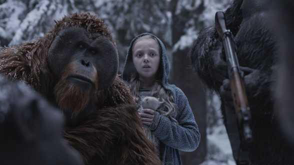 Vanavond op TV: War for the Planet of the Apes - Actueel