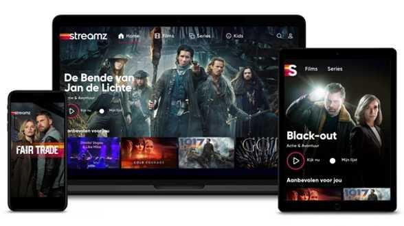 Streamz, het nieuwe streamingplatform van DPG Media en Telenet, start op maandag 14 september - Actueel