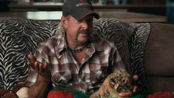 Louis Theroux werkt aan BBC-documentaire over Joe Exotic (Tiger King) - Actueel
