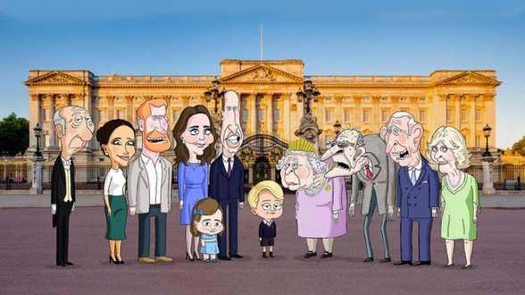 Satirische animatieserie over de Britse koninklijke familie wordt uitgesteld - Actueel