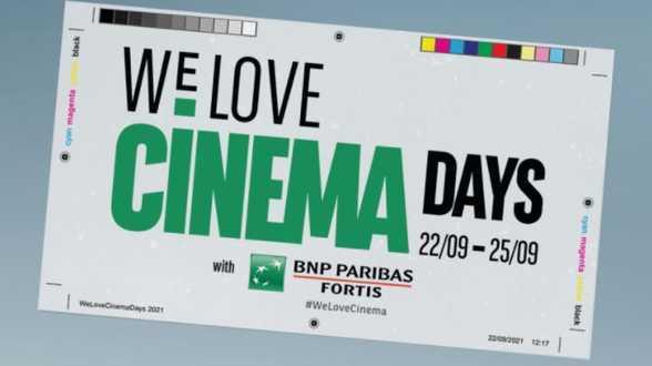 We Love Cinema Days : 4 dagen cinemafeest - Actueel