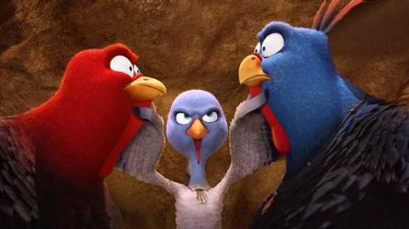 Alex Agnew, Niels Destadsbader en Erika Van Tielen in vlaams gesproken animatiefilm Free Birds - Actueel