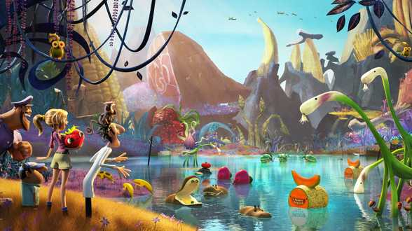 Cloudy with a Chance of Meatballs 2 - Bespreking