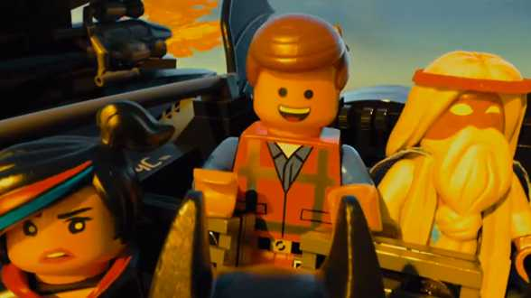 Man of Steel modus voor de trailer van Lego The Movie (video) - Actueel