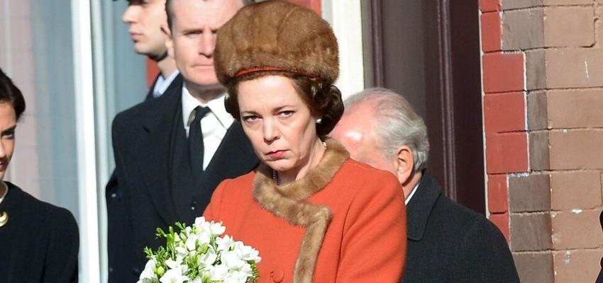L'actrice oscarisée Olivia Colman distinguée par Elizabeth II