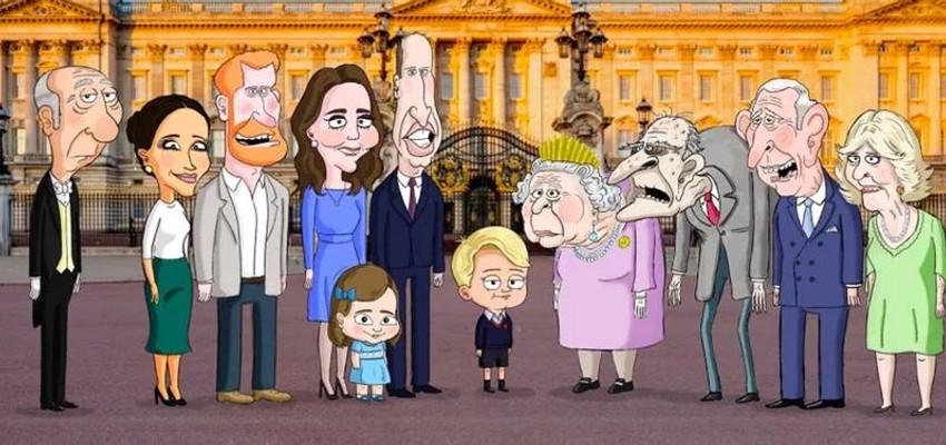 HBO annonce une parodie animée de la famille royale britannique