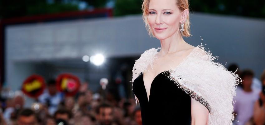 L'actrice Cate Blanchett victime d'un accident de tronçonneuse