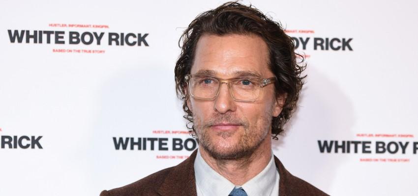 Le père de Matthew McConaughey est décédé pendant qu'il faisait l'amour