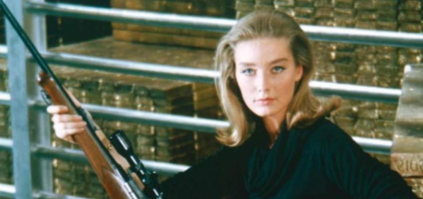 Bondgirl Tania Mallet overleden