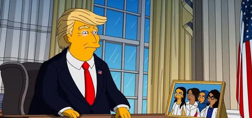 Makers van 'The Simpsons' halen Donald Trump door de mangel