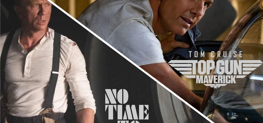 James Bond en Top Gun verschijnen op dezelfde dag in eenzelfde speelfilm.