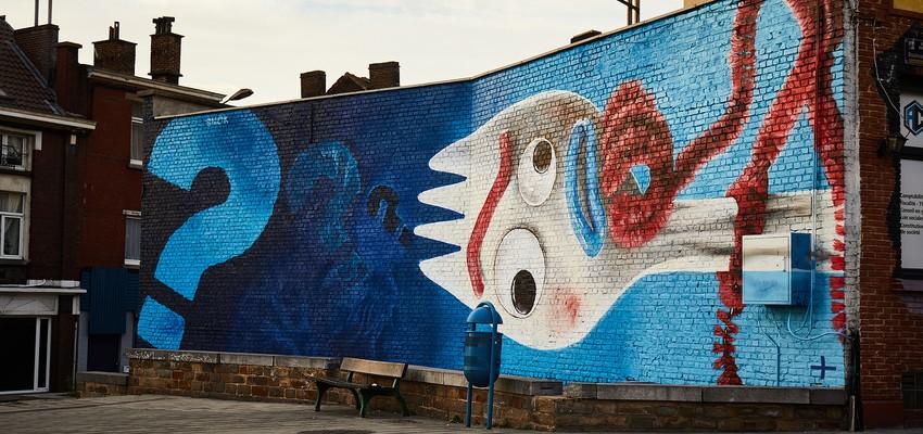 Disney+ viert lancering in België met street art in vijf steden