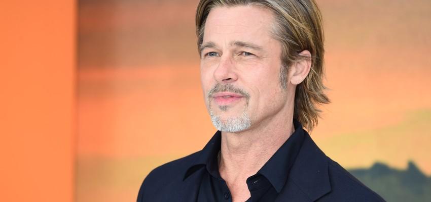 Brad Pitt en model Nicole Poturalski uit elkaar