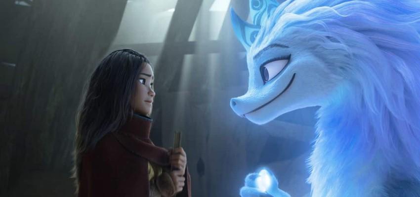 'Raya and the Last Dragon' houdt stand aan box office dankzij heropening bioscopen in LA