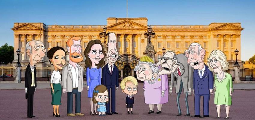 Satirische animatieserie over de Britse koninklijke familie wordt uitgesteld