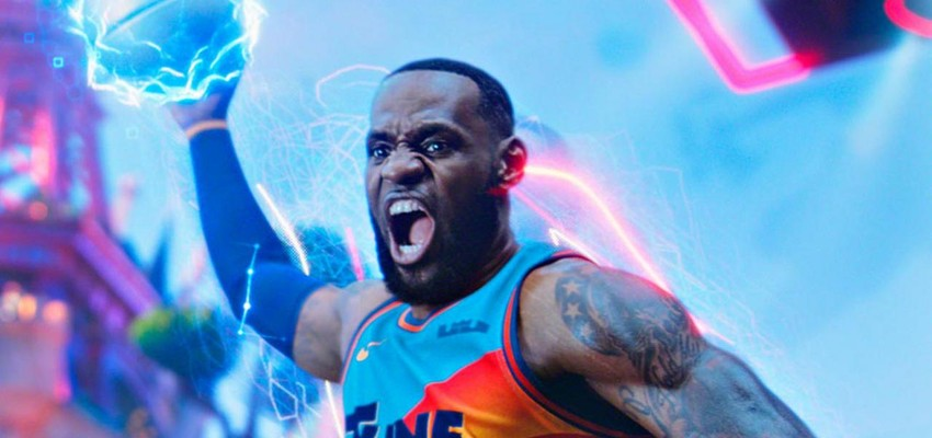 LeBron James slaat Olympische Spelen over om zijn film 'Space Jam' te promoten